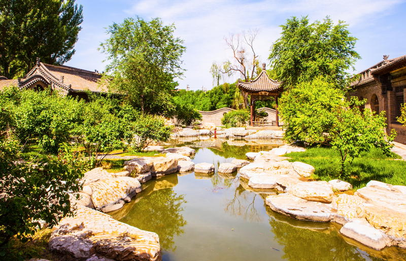 Download Chang's Manor Park Scene-Manor`s Garden Stock Photo - Image: 37734718