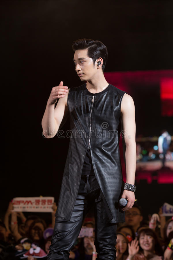 Download Chang Sung (2PM Band) At The Human Culture EquilibriumConcert Korea Festival In Viet Nam Editorial Image - Image of concet, culture: 39515705