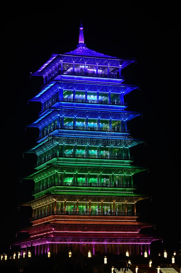 changan πύργος στοκ εικόνα