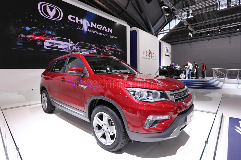 Download Changan CS75 редакционное стоковое изображение. изображение насчитывающей представление - 33727359