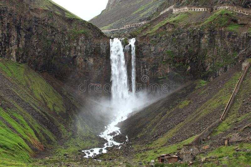 Changbai Waterfall stock photography