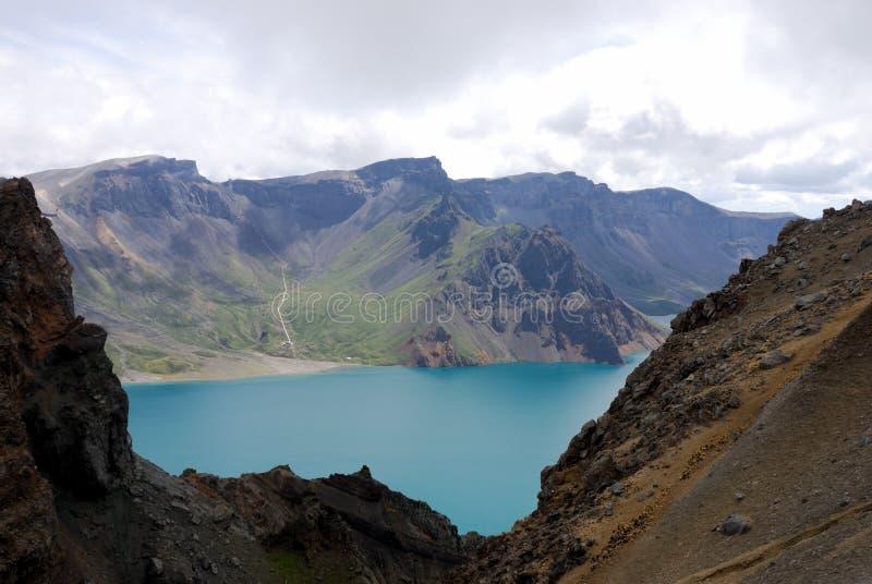 changbaishan озеро рая стоковые изображения rf