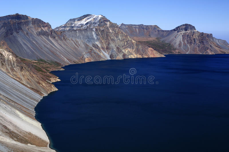 Changbaishan tianchi stock images