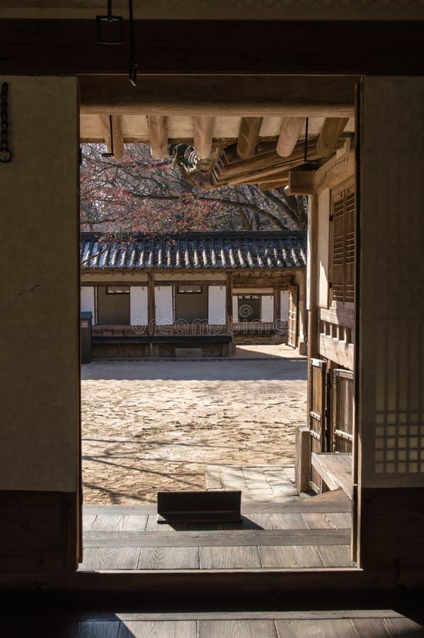 Changdeok宫殿 库存图片