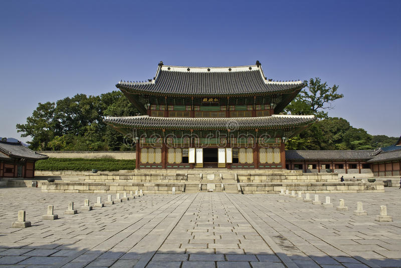 changdeok νότος παλατιών της Κορέα& στοκ εικόνες με δικαίωμα ελεύθερης χρήσης