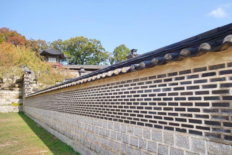 Changdeokgung pałac obrazy stock