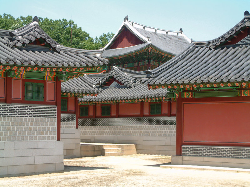 Download Changdeokgung Palace, Seoul Stock Image - Image of dynasty, heritage: 456653