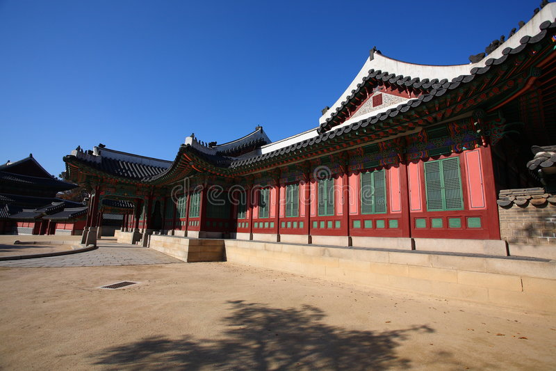 changdokgung παλάτι στοκ εικόνα με δικαίωμα ελεύθερης χρήσης