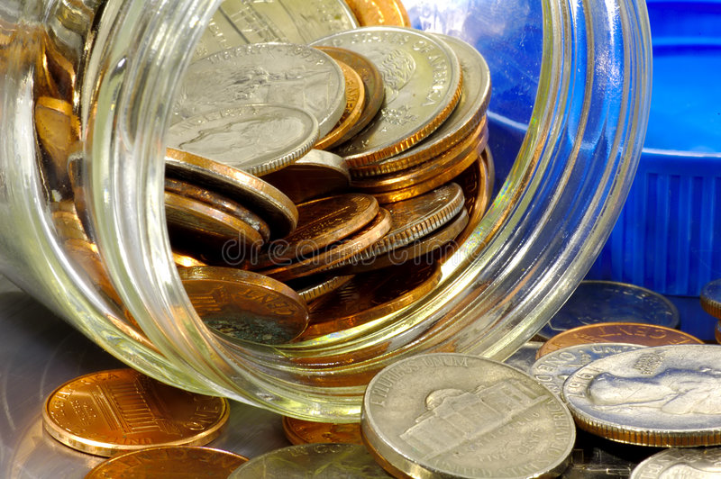 Download Change stock photo. Image of finance, nickels, collect, banking - 67910