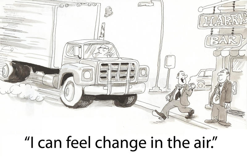 Change in the air vector illustration