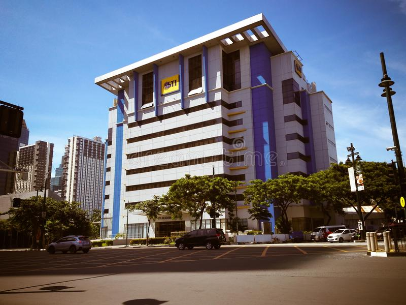 STI College Global City stock photo