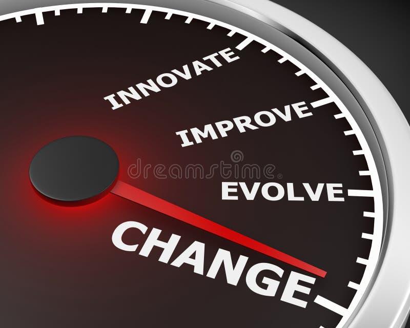 Change stock illustration