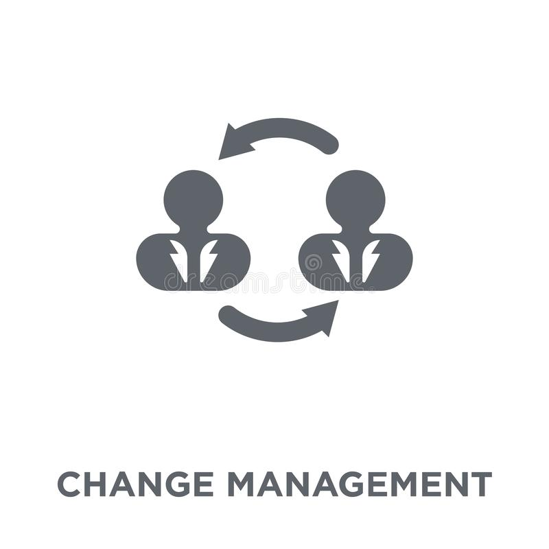 Change management icon from Time managemnet collection. vector illustration