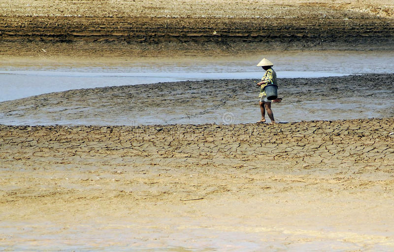 CHANGEMENT CLIMATIQUE DE L'INDONÉSIE photos stock