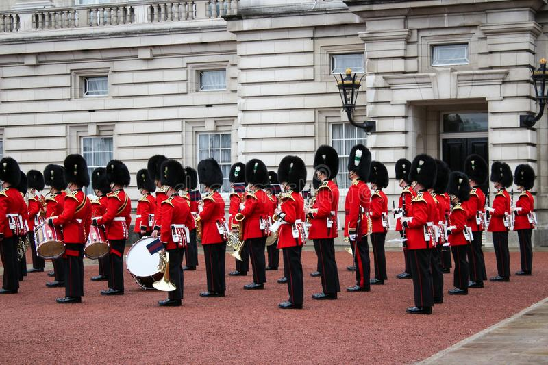 Changement de Buckingham Palace de la garde - Londres event-2 important images libres de droits