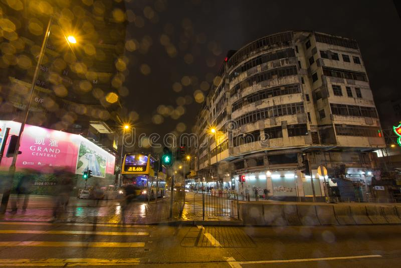 Changement de Hong Kong photographie stock libre de droits