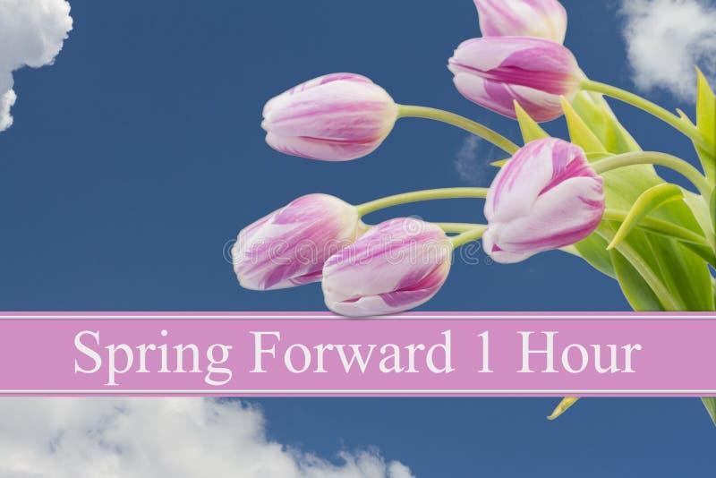 Changement de printemps photo stock