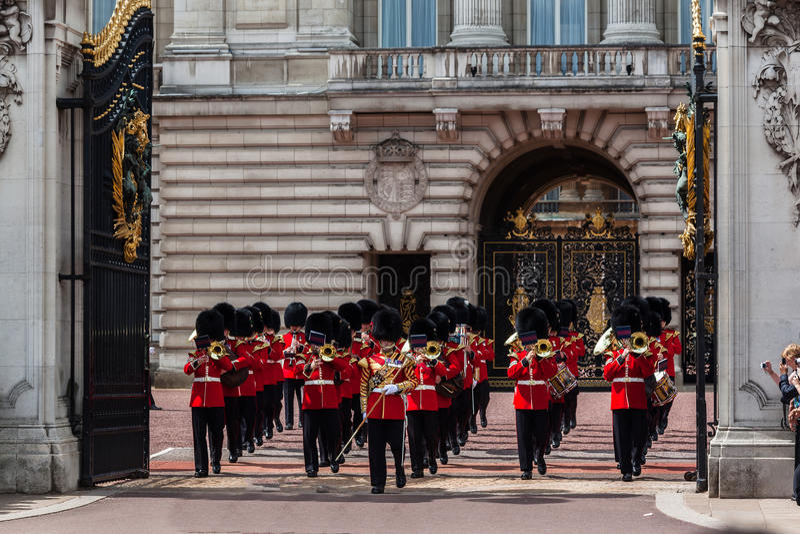 Changement du dispositif protecteur Londres image stock