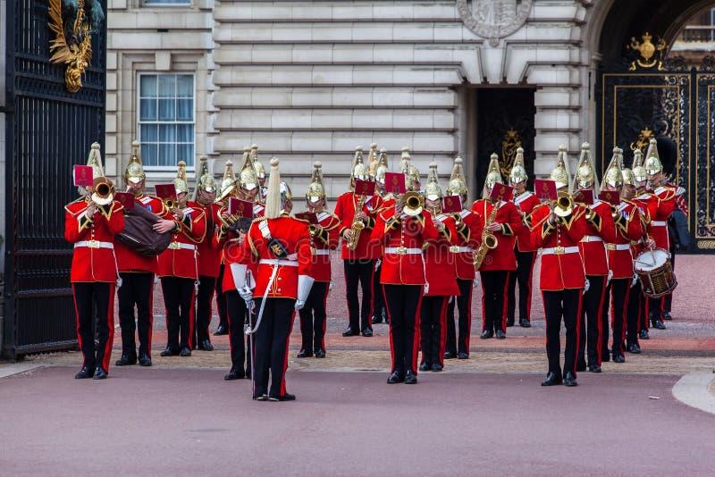Changement du dispositif protecteur Londres photographie stock