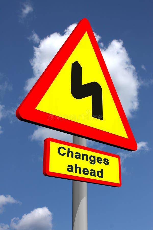 Download Changes ahead stock illustration. Illustration of warning - 11507659