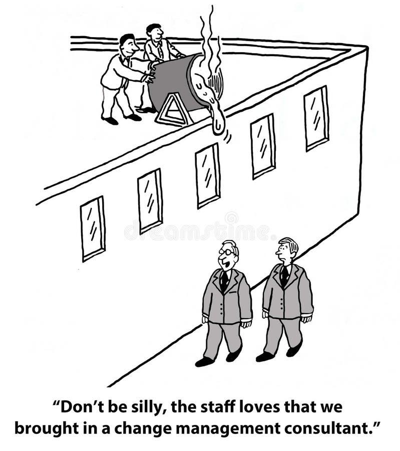 Changez le management illustration de vecteur