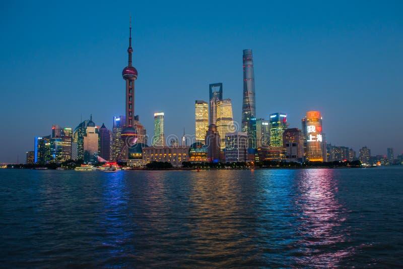 Changhaï Bund image libre de droits