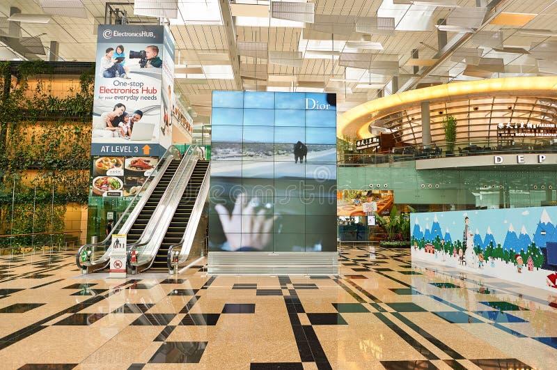 Changi Airport royalty free stock image