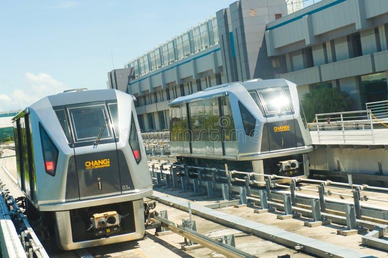Changi Airport Skytrain royalty free stock photos