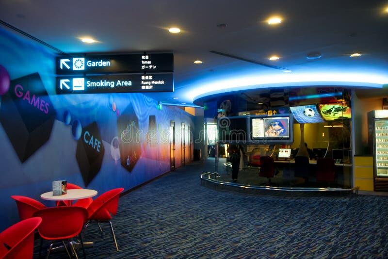 Changi de Videospelletjes van de Luchthaven royalty-vrije stock foto's