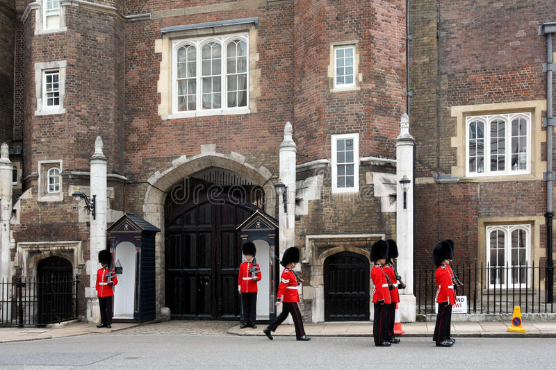Download Changing of the Guard editorial stock photo. Image of james - 10261898