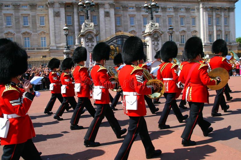 Download Changing of guard editorial stock image. Image of drum - 9586759