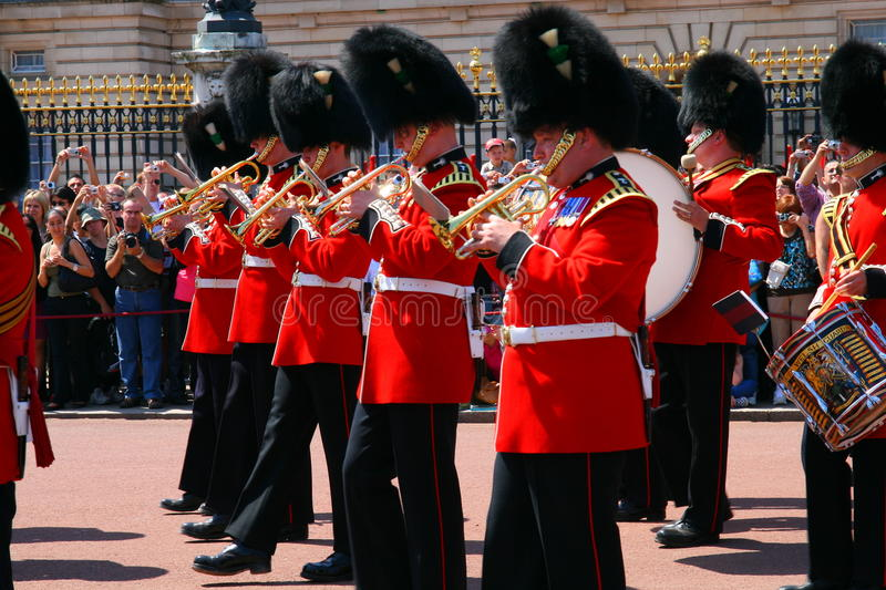 Download Changing of the guard editorial stock photo. Image of drums - 9586788