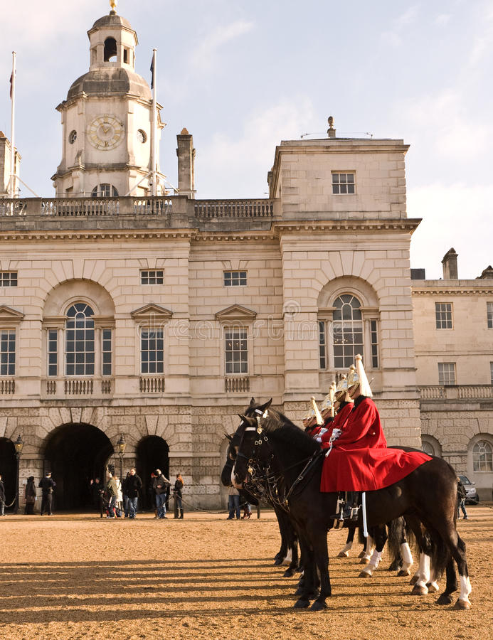 Changing The Guard, Horse Guards Parade. Editorial Photo