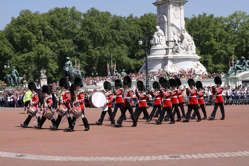 Changing the Guard. London