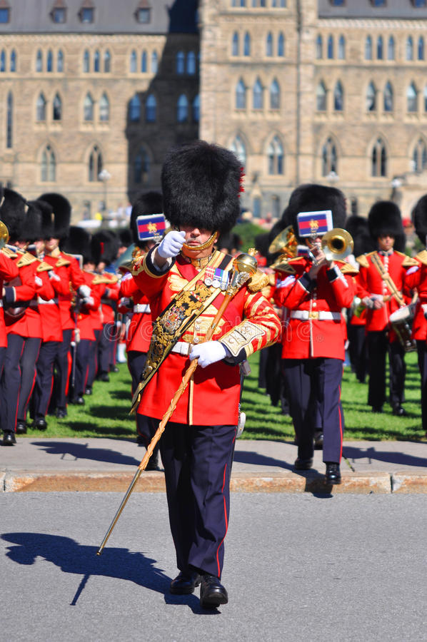 Download Changing Of Guard In Parliament Hill, Ottawa Editorial Photography - Image: 20867052