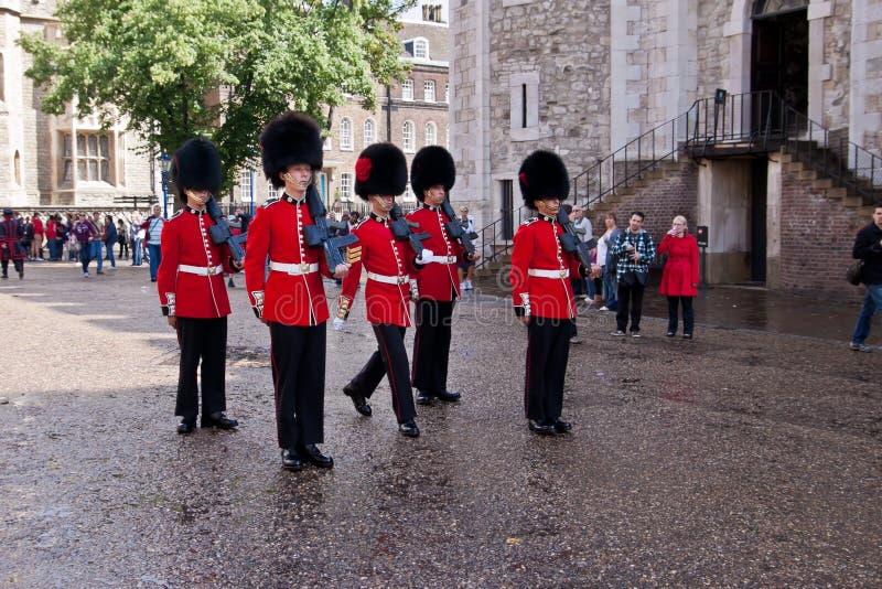 Changing of royal guards royalty free stock photos