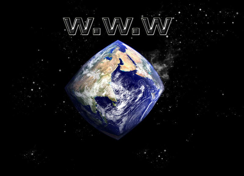 Changing shape of our Planet stock image