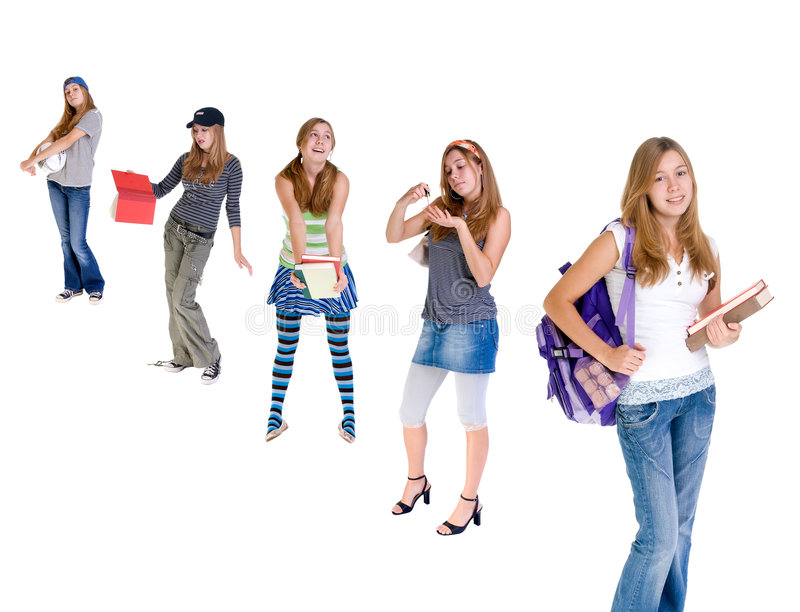 Download Changing Teenagers stock image. Image of future, reading - 3138079