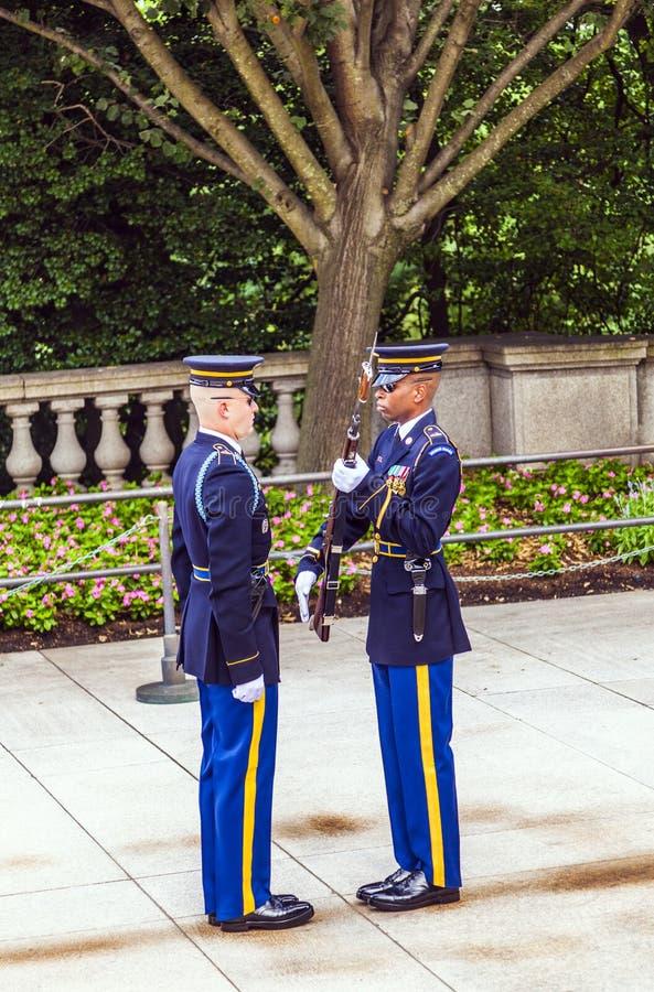 Free Changing The Guard At Arlington Stock Images - 33894094