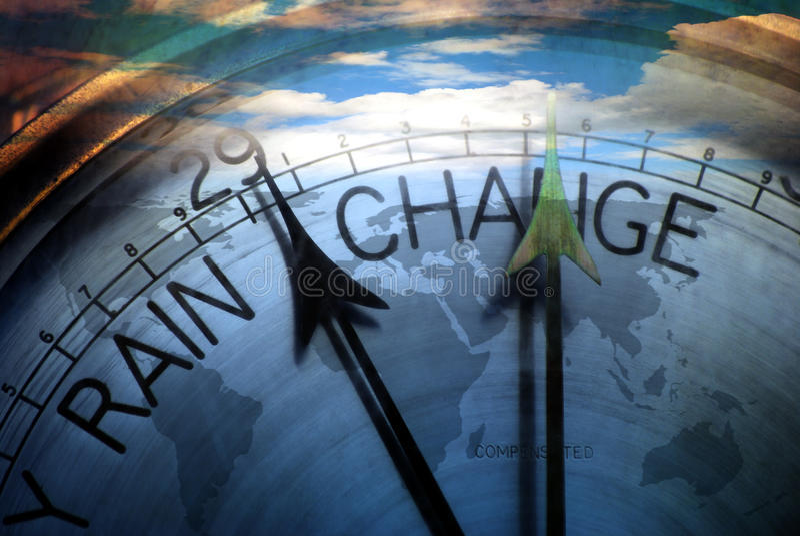 Changing world stock illustration