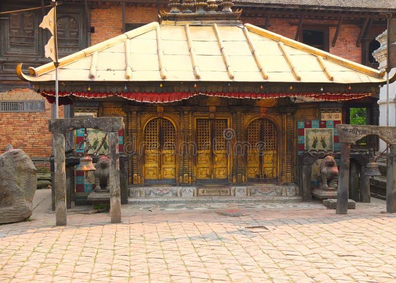 Changu Narayan Temple, Bhaktapur, Nepal royaltyfri fotografi