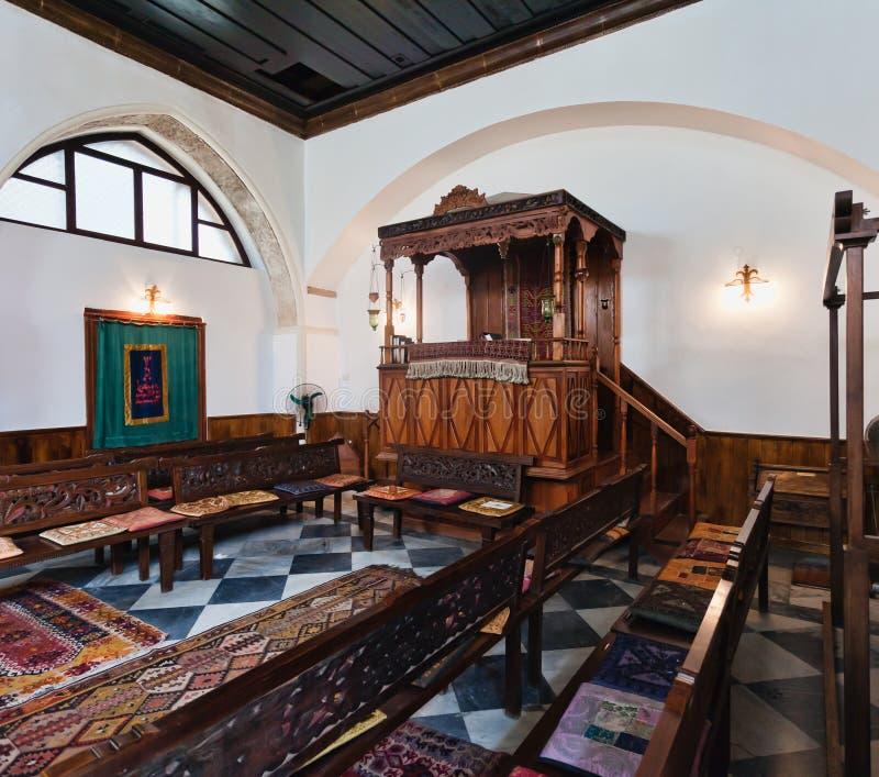 chania克利特希腊犹太教堂 免版税图库摄影