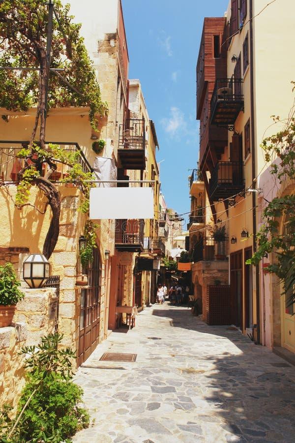 chania Крит стоковые изображения