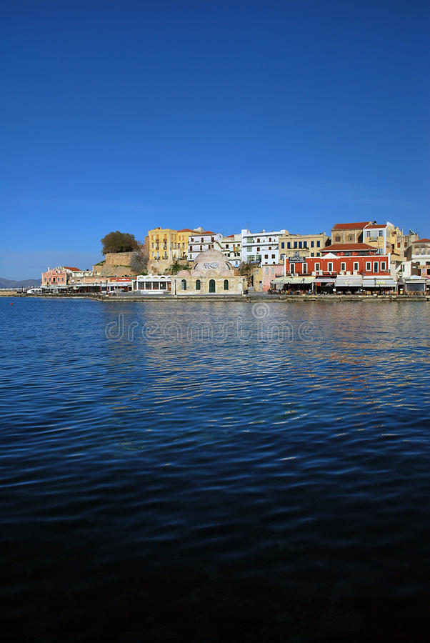 Download Chania stock image. Image of greek, island, port, chania - 26622091
