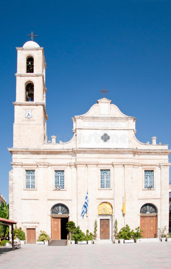 Chania Cathedral royalty free stock photography