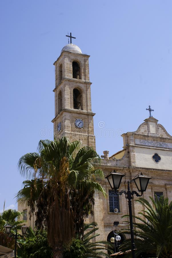 Chania, Crète, Grèce photographie stock libre de droits