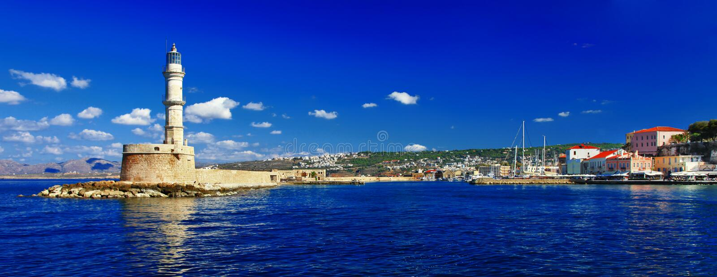 Chania, Crète, Grèce photo stock