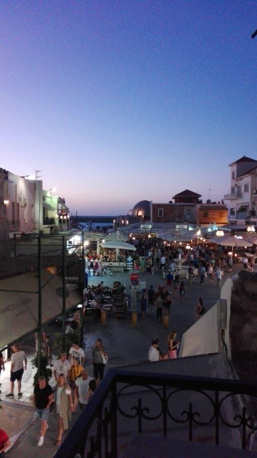 Chania Creta céntrico fotos de archivo libres de regalías