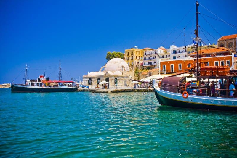Chania, Crete, Grecja/ zdjęcie royalty free