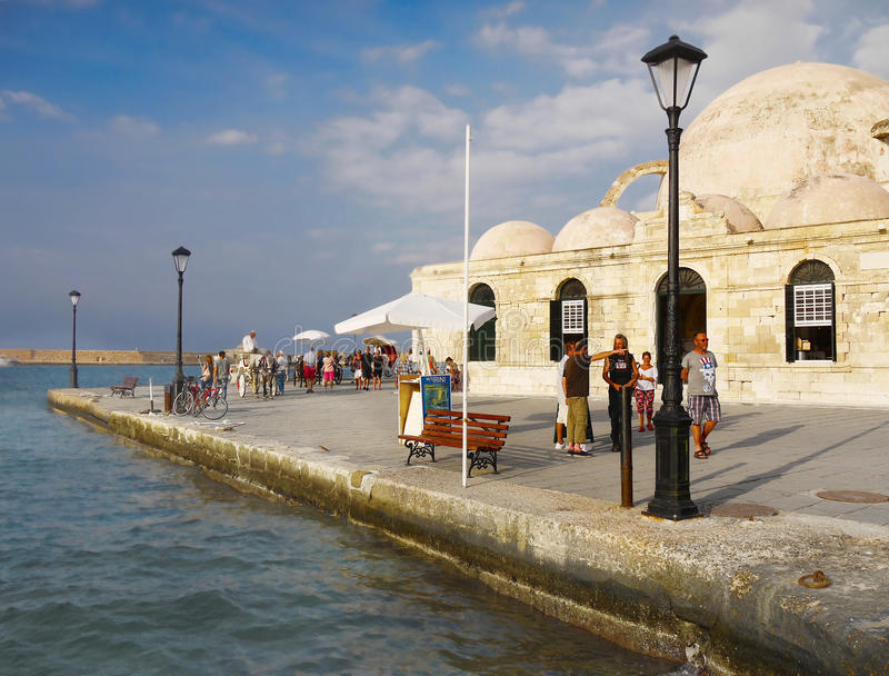 Chania Crete Greece royalty free stock photos
